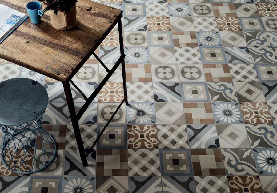 Retro tile collection from Ceramica Fioranese, Italy